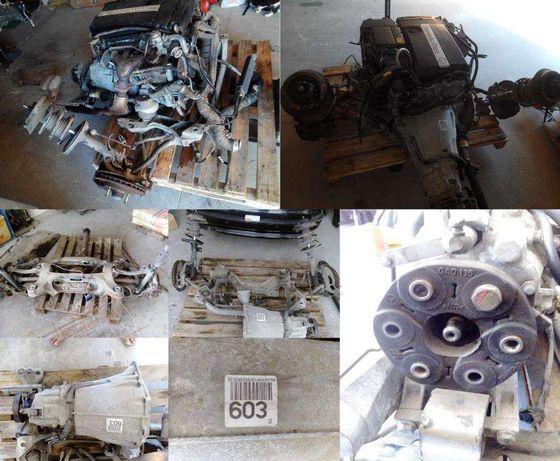Componentes diversos do Motor Mercedes C180 W203