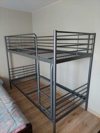 Łóżko piętrowe IKEA SVARTA