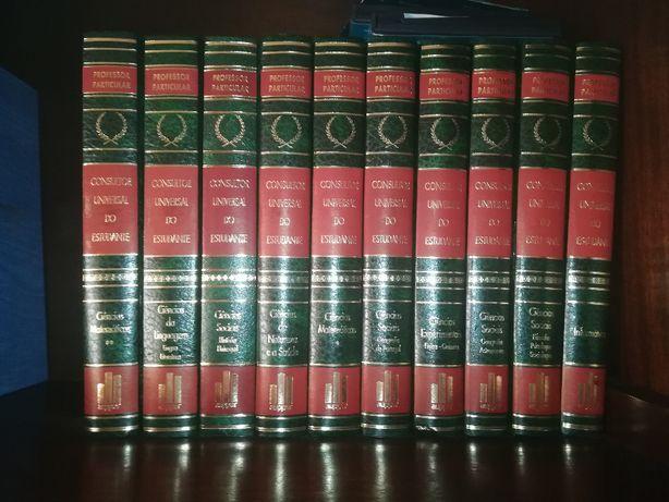 Coleção Livros - Consultor Universal do Estudante (ler descrição)