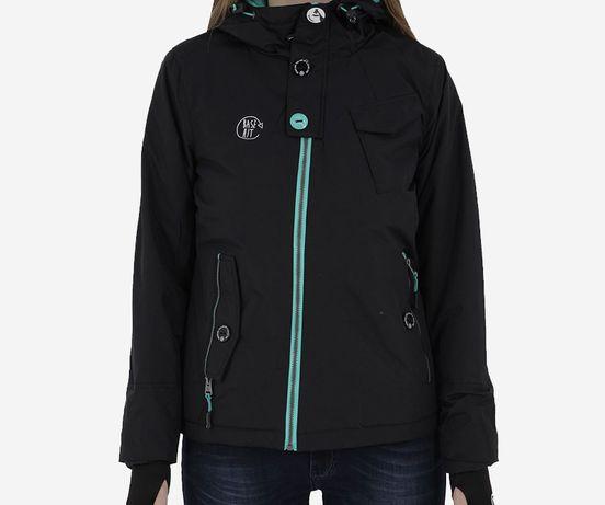 Damska kurtka zimowa z kapturem XL