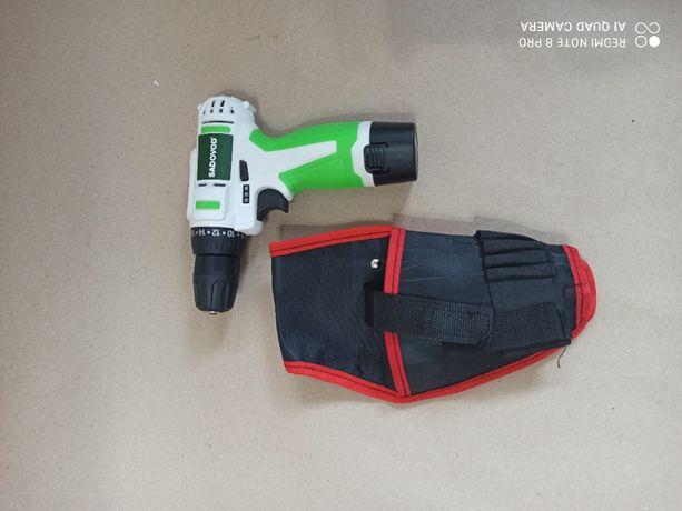 шуруповерт аккумуляторный 12в с кобурой бесплатная доставка