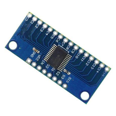 Modulo Conversor Analógico/Digital MUX Multiplexer - 74HC4067