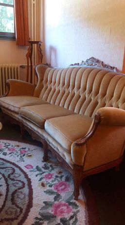 Wypoczynek kanapa fotele Ludwik antyk salon sofa