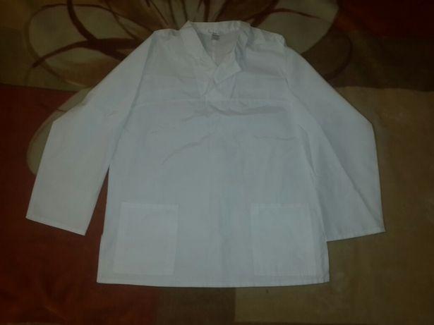 Медицинский костюм/костюм повара белый новый, 52-54