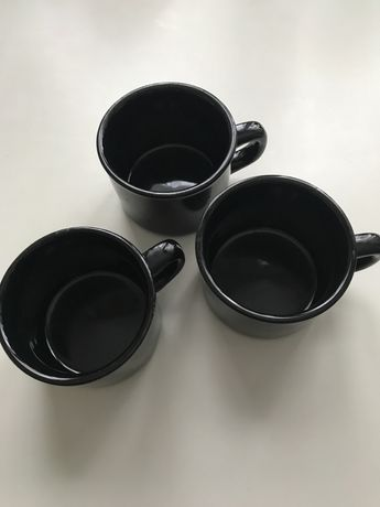 Чашка чорна 3 шт
