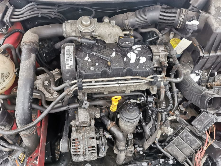 Silnik VW Polo 9N 1.4 TDI BNM