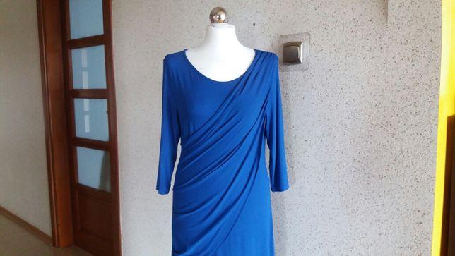 Sukienka 38 Ciążowa Chabrowa ISABELLA OLIVER 3/4 Midi