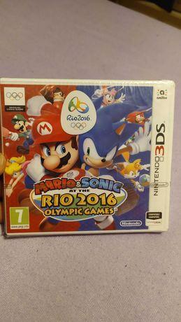 Jogo Nintendo 3DS Mário & Sonic Até The rio 2016 Olympic games
