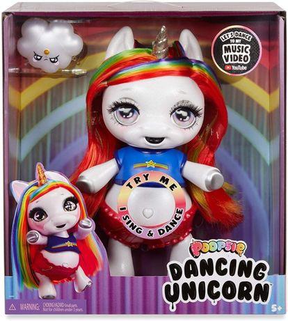 Танцующий единорог пупси Poopsie Dancing Unicorn Rainbow Brightstar
