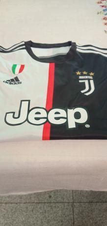 vendo camisola do Juventus n 7 do Ronaldo o tamanho é o l