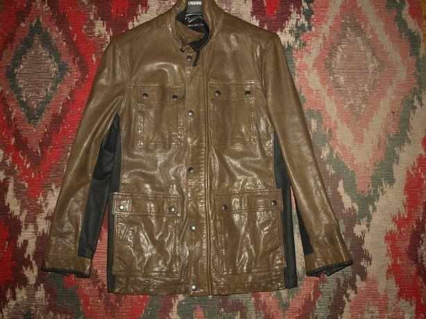 Мужская кожаная куртка американского бренда John Varvatos, 48, 50