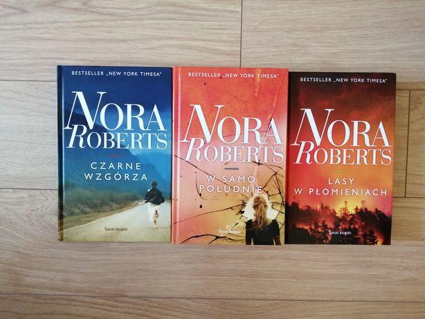 Nora Roberts W samo południe, Czarne wzgórza, Lasy w płomieniach