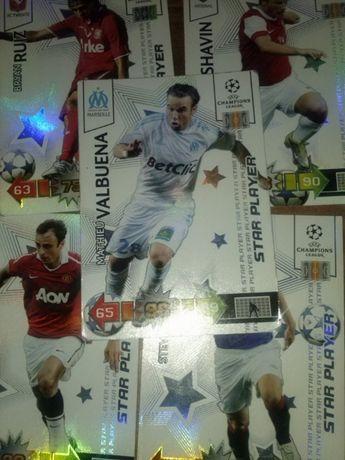 STAR PLAYER karty piłkarskie kolekcjonerskie Panini 2010/11 Champions