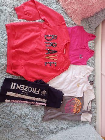 Ubrania dla dziewczynki na 128-134cm
