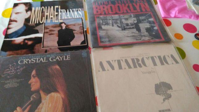 Vinyl vários géneros musicais