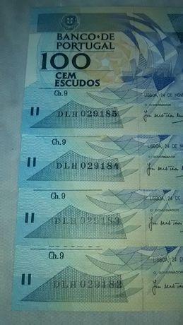 Notas de Escudo da Républica Portuguesa