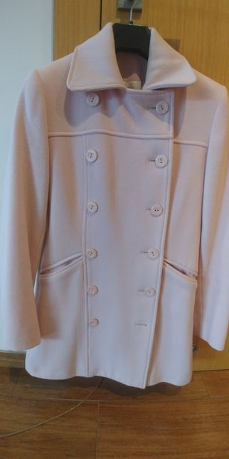 Płaszcz pudrowy M