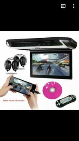 Leitor/monitor dvd multimédia (novo) com jogos
