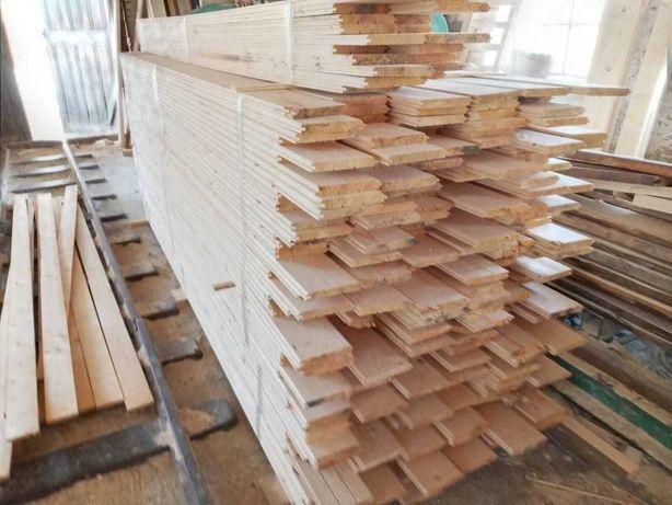 Вагонка деревянная, половая доска, сайдинг, блок-хаус, рейка, плинтус