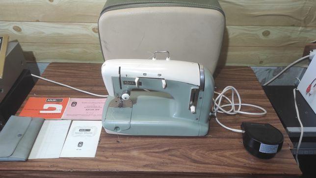 Швейная машина Adlerette 200 производство ФРГ(Германия) шьёт кожу!