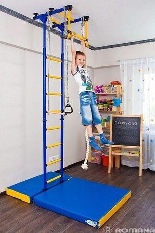 Drabinka gimnastyczna rozporowa dla dziecka