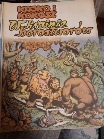 Kajko i Kokosz w krainie borostworów wyd.1 1987r