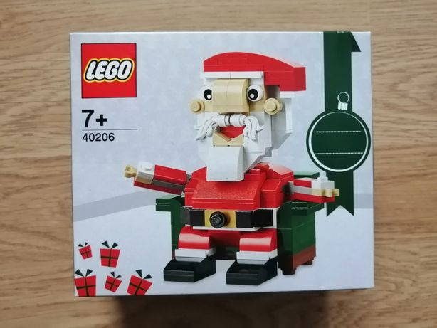 Lego Okolicznościowe 40206 Święty Mikołaj