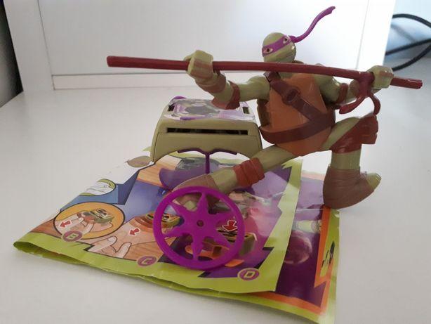 Kinder brinde tartaruga ninja