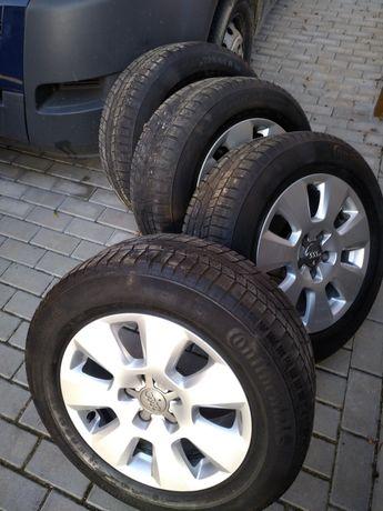 Koła, felgi z oponami zimowymi Audi A3 A4 A6  5x112