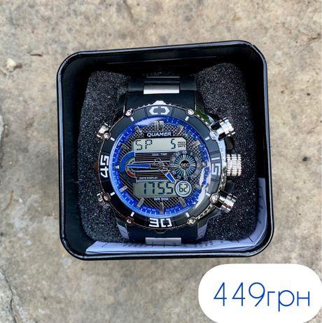 Мужские спортивные часы Quamer Чоловічі спортивний годинник