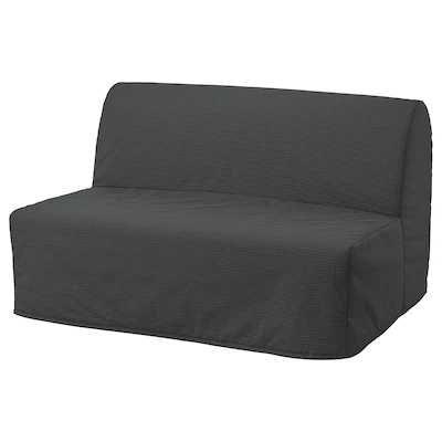 Sofá que faz uma cama prática e bastante cómoda