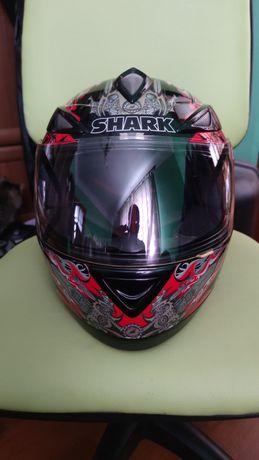 Шолом SHARK S500 AIR DEMON(оригінал) L, мотошлем , шлем , мотошолом