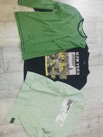 3 szt bluzki dl rekaw reserved cool club 146