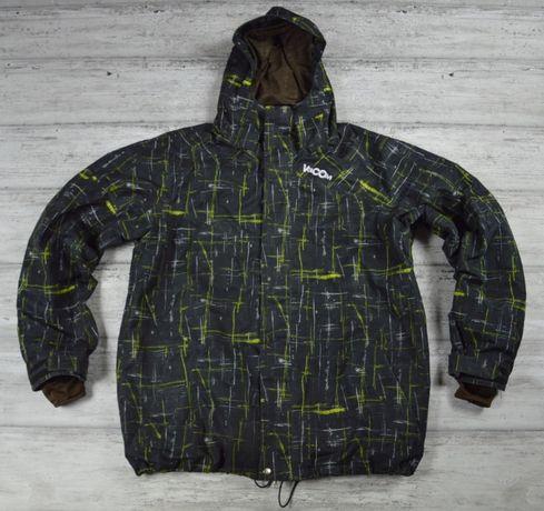 VOLCOM NIBUS męska kurtka narciarska z kapturem - XL