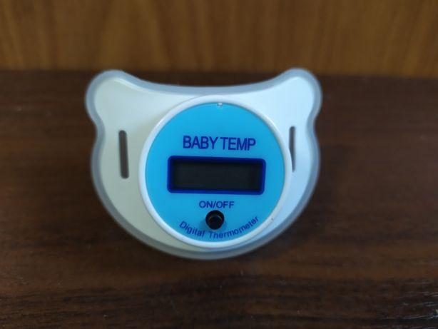 Цифровой термометр в виде соски для детей SOSKA TEMERATURE, соска-град