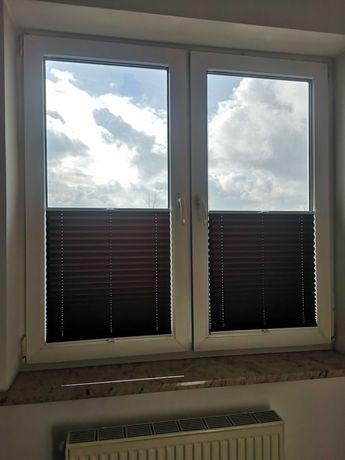 Plisy okienne / rolety plisowane