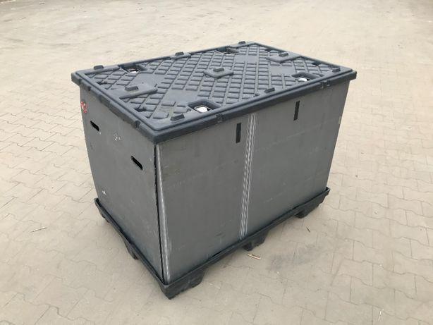 Pojemniki kosze plastikowe skrzyniopalety gitterbox