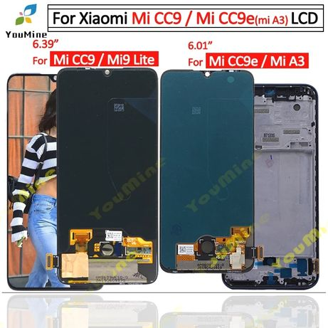 дисплей lcd Xiaomi mi8 8se 8pro mi9se mi 9lite A3 mi 10t poco x3 9t
