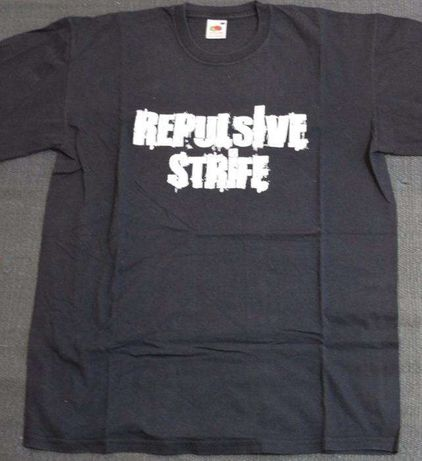 Repulsive Strife (Banda Portuguesa - Shirt) + PIN + Caixa/capas Cd