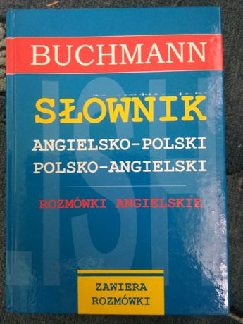 Słownik angielsko polski i polsko angielski super stan duży