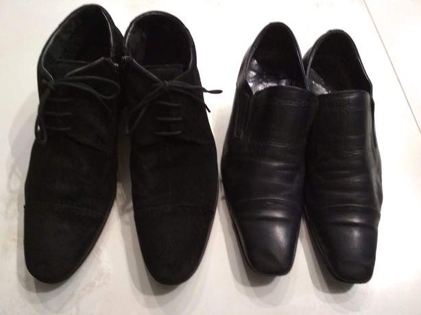 Ботинки осень-зима натуральная замша,туфли 3 пары