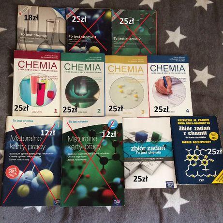 Książki chemia liceum/technikum