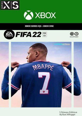 Продам аккаунт Fifa 22 Ultimate Edition Xbox series X/S