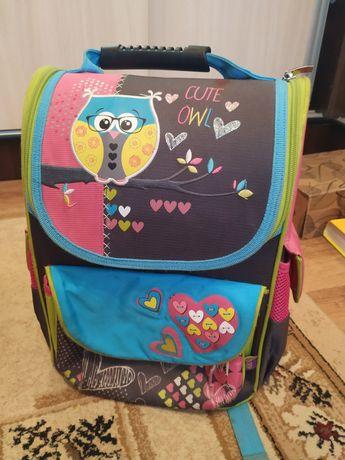 Школьный ранец рюкзак каркасный для 1-4 класса