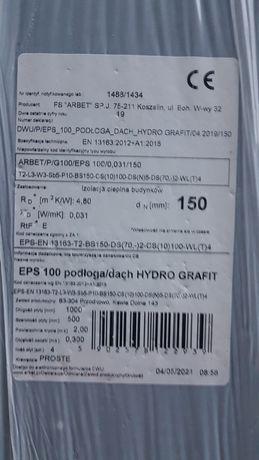 Styropian grafit podloga/dach gr.15cm  EPS 100
