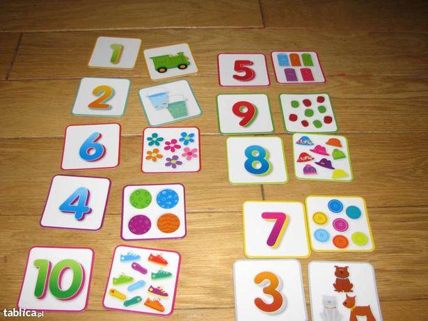 Puzzle - układanka cyferkowo