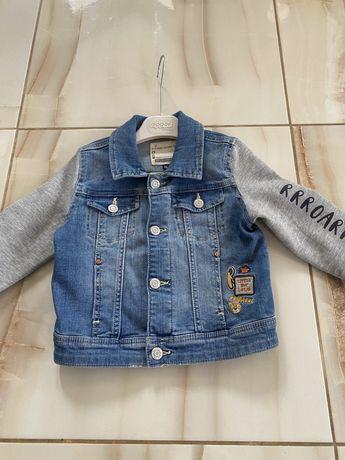 Джинсовая детская куртка