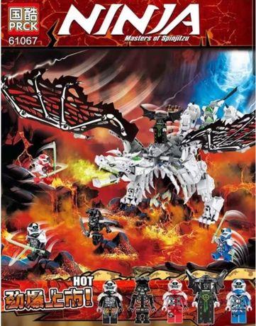 Klocki Ninjago Smok Szkieletowego Czarownika 61067 PRCK jak LEGO