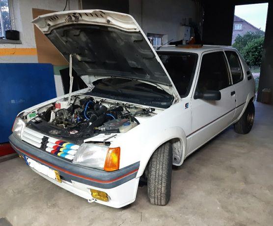 Peugeot 205 xad turbo