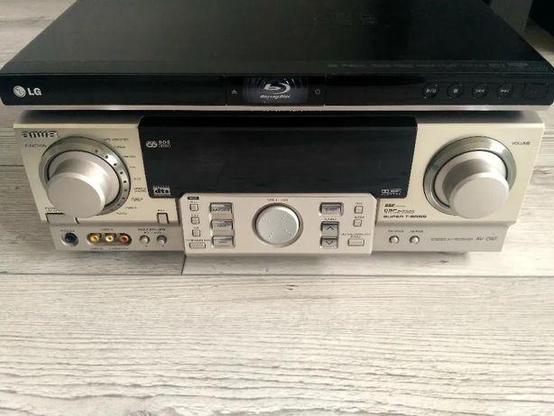 Amplituner Aiwa AV-D97, blu-ray LG BD350V USB